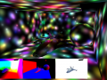 "The obligatory ""Light confetti"" in a deferred renderer (2500 lights)"